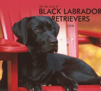 Labrador Retrievers, Black for the Love of 2008 Deluxe Wall