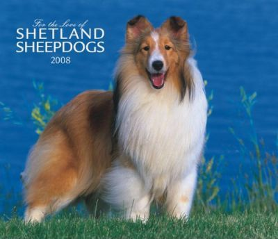 Shetland Sheepdogs, for the Love of 2008 Deluxe Wall
