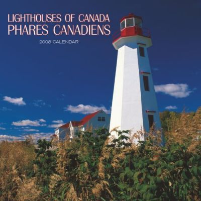 Lighthouses of Canada/Phares Canadiens 2008 Square Wall