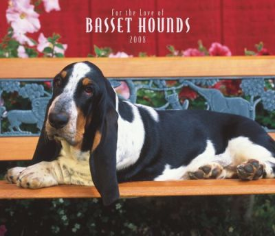 Basset Hounds, for the Love of 2008 Deluxe Wall