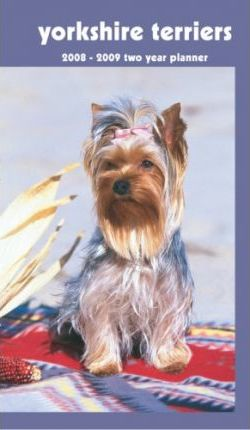 Yorkshire Terriers 2008 - 2009 Pocket Planner