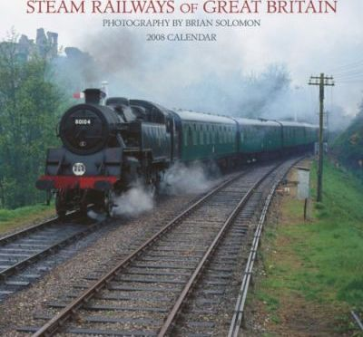 Steam Railways of Great Britain 2008 Square Wall