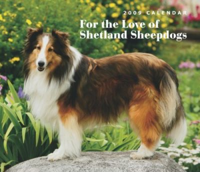 For the Love of Shetland Sheepdogs 2009 Calendar
