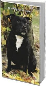 Staffordshire Bull Terriers 2010 Weekly Pocket Planner