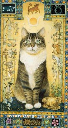 Ivory Cats 2011 Pocket Planner