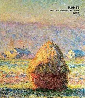 Monet Monthly Personal Planner 2012