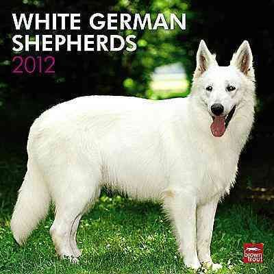 White German Shepherds 2012 Wall Calendar