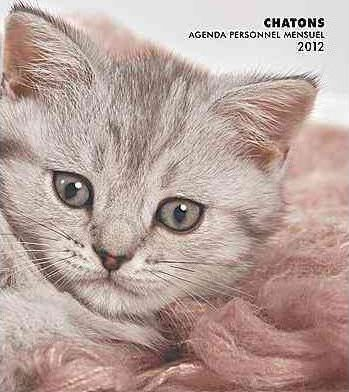 Chatons 2012 Personal Planner