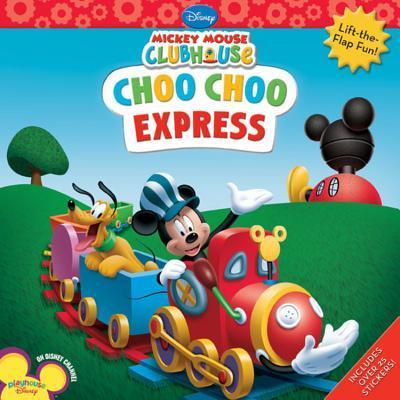 mickey mouse clubhouse choo choo express disney book group