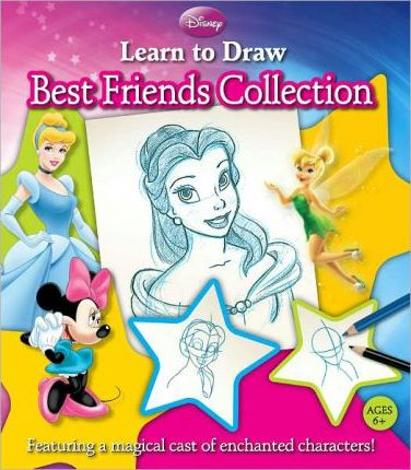 Disney Learn to Draw Favorites Collection (Btms Custom Pub)