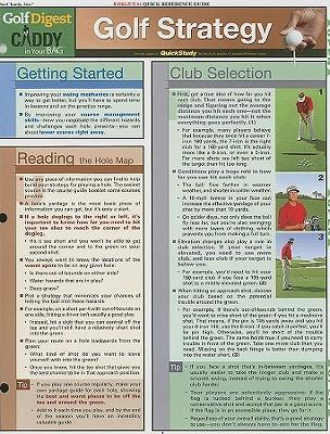 Golf Strategy  Reference Guide