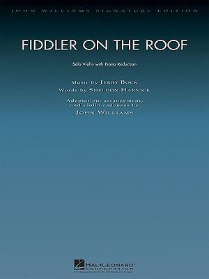 Fiddler On The Roof (John Williams) Violin & Piano Reduction Sc/Pts