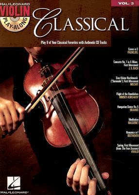 Violin Play-Along Volume 3  Classical (Book/Online Audio)