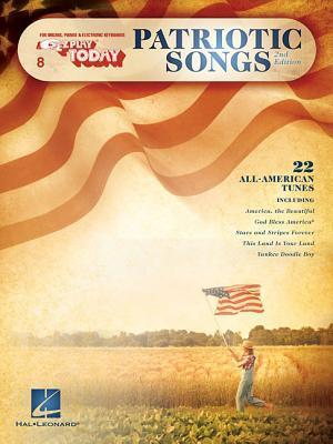 Patriotic Songs  For Organs, Pianos & Electronic Keyboards