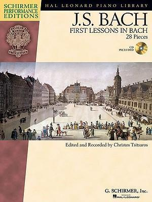 J.S. Bach : First Lessons In Bach (Book/Audio)