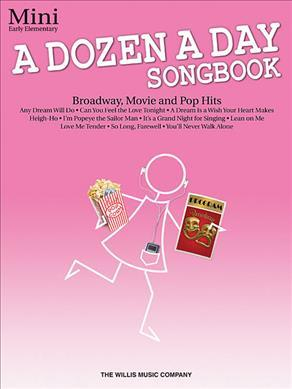 A Dozen a Day Songbook - Mini (Book Only)