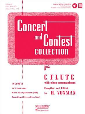Concert and Contest Collection for C Flute : With Piano Accompaniment