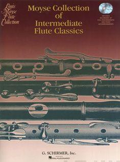 Moyse Collection Of Intermediate Flute Classics (Book/Online Audio)