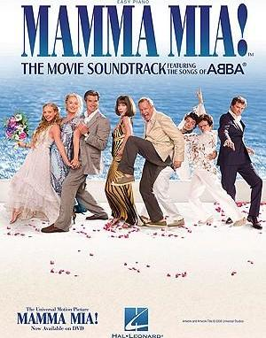 ABBA : Mamma Mia] - The Movie Soundtrack (Easy Piano)