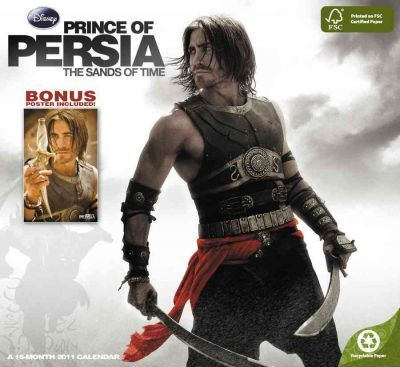 Prince of Persia: the Sands of Time 2011 Calendar