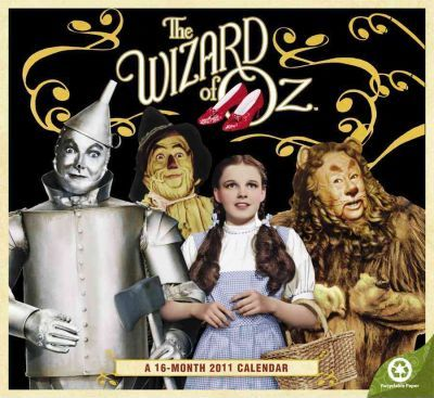 The Wizard of Oz 2011 Calendar
