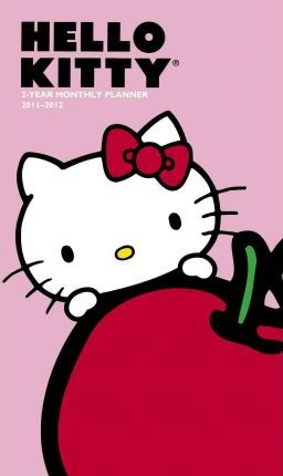 Hello Kitty 2-Year Monthly Planner 2011-2012