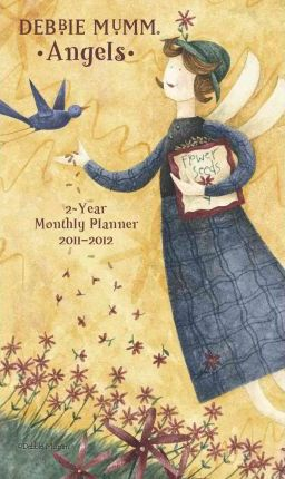Debbie Mumm Angels 2-Year Monthly Planner 2011-2012