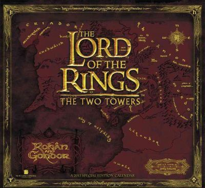 The Lord of the Rings 2011 Calendar
