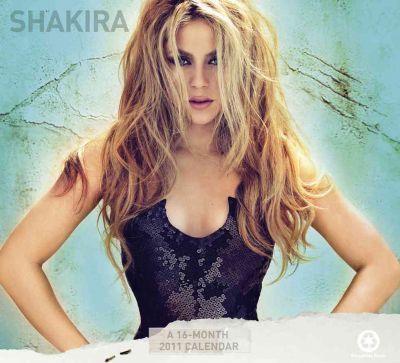 Official Shakira 2011 Square Calendar