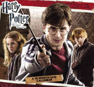 Harry Potter and the Deathly Hallows 2 2012 Calendar