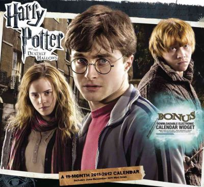 Harry Potter and the Deathly Hallows 19 Month 2011-2012 Calendar