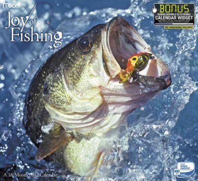 Joy of Fishing 2012 Calendar