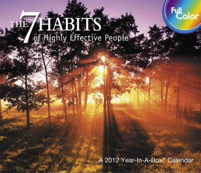 The 7 Habits of Highly Effective People 2012 Calendar