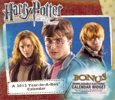 Harry Potter and the Deadly Hallows 2012 Calendar