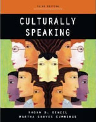 Culturally Speaking - Print on Demand