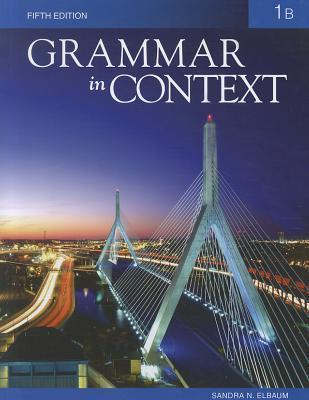 Grammar in Context 1: Split Text B (Lessons 8 - 14)