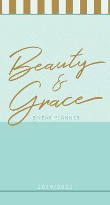 20192020 2 year pocket planner beauty grace pale blue
