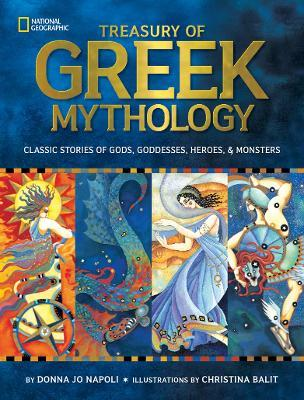 Treasury of Greek Mythology Cover Image