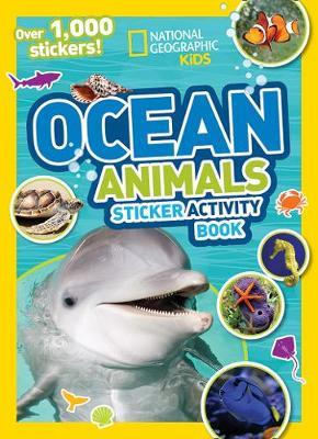 Ocean Animals Sticker Activity Book : Over 1,000 Stickers!