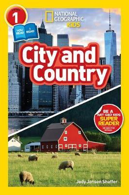 National Geographic Kids Readers: City/Country