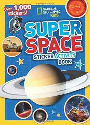 Super Space Sticker Activity Book