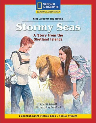 Content-Based Chapter Books Fiction (Social Studies: Kids Around the World): Stormy Seas: A Story from the Shetland Islands