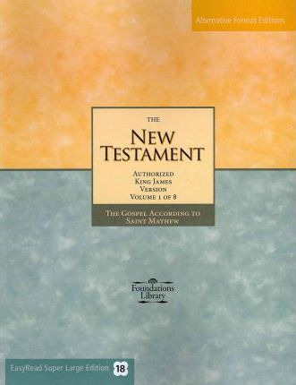 The New Testament, Authorized King James Version