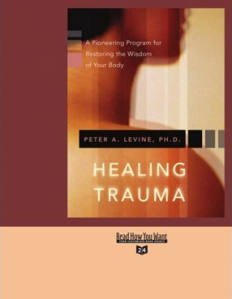 Healing Trauma : A Pioneering Program for Restoring the Wisdom of Your Body: Easyread Super Large 24pt Edition