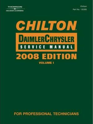 Chilton Chrysler Service Manual