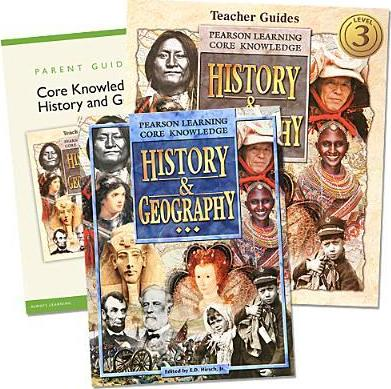 Core Knowledge History and Geography Homeschool Bundle Grade 3 C2002