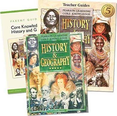 Core Knowledge History and Geography Homeschool Bundle Grade 5 C2002