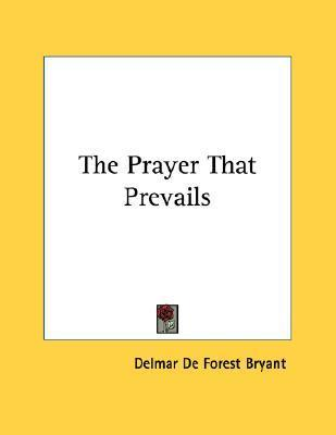 The Prayer That Prevails