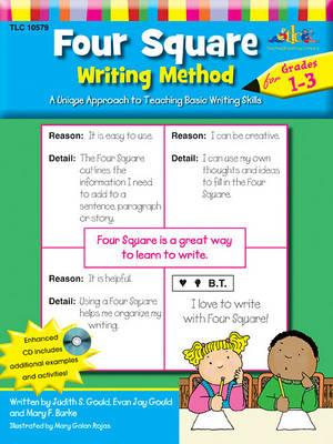 Four Square Writing Method Grades 1-3 W/Enhanced CD  A Unique Approach to Teaching Basic Writing Skills