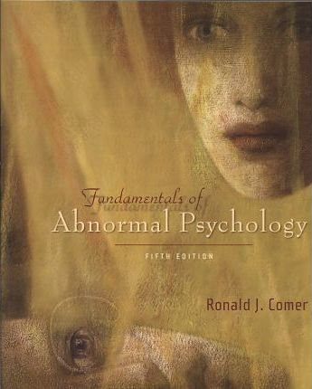 Fundamentals Of Abnormal Psychology Cd Rom Study Guide